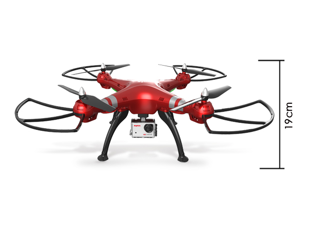 SYMA X8HG 2.4G 6-Axis Profissional Quadcopter Drone with 8MP HD Camera