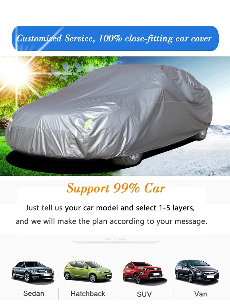 CUSTOM FIT CAR COVER 100/% Waterproof 100/% Breathable 100/% UV /& Heat Protection