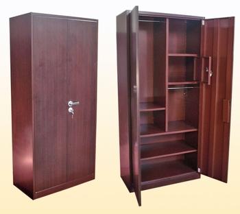 2013 New Design Double Doors Bedroom Indian Wardrobe Designmetal