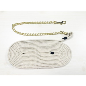 Good quality horse cotton training rope with chain