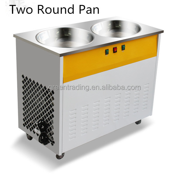 Factory Supply ice cream roll freezer with factory supply