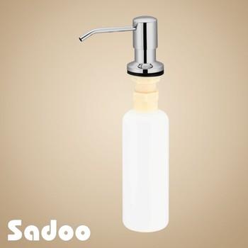 Conceal Brushed Nickel Pump Head Kitchen Liquid Soap Dispenser