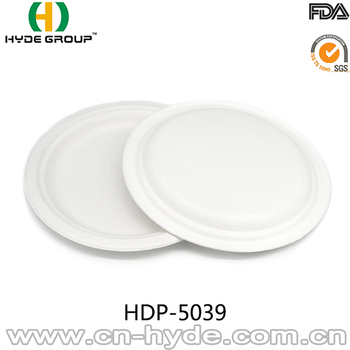 9 inch round sugarcane paper plates  sc 1 st  Alibaba : sugarcane disposable plates - pezcame.com