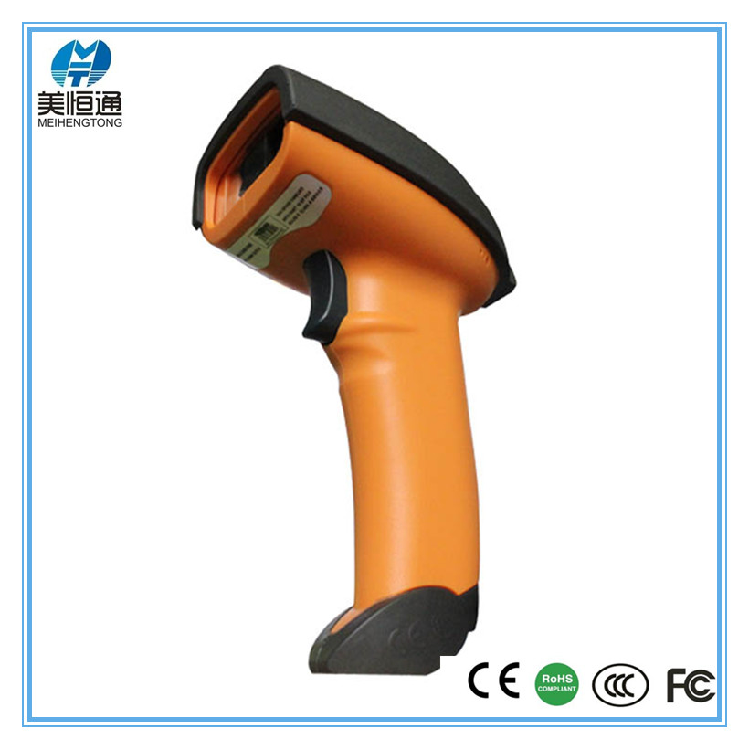 MHT--8080 support QR, PDF417 and DataMatrix code 2D USB wired handheld barcode scanner