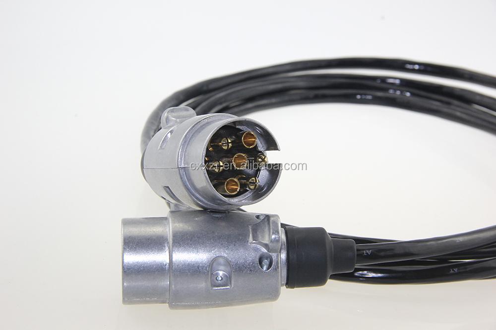 Anhänger Stecker Mit Feder Kabel/anhänger Kabel 7 Kern/7-polige ...