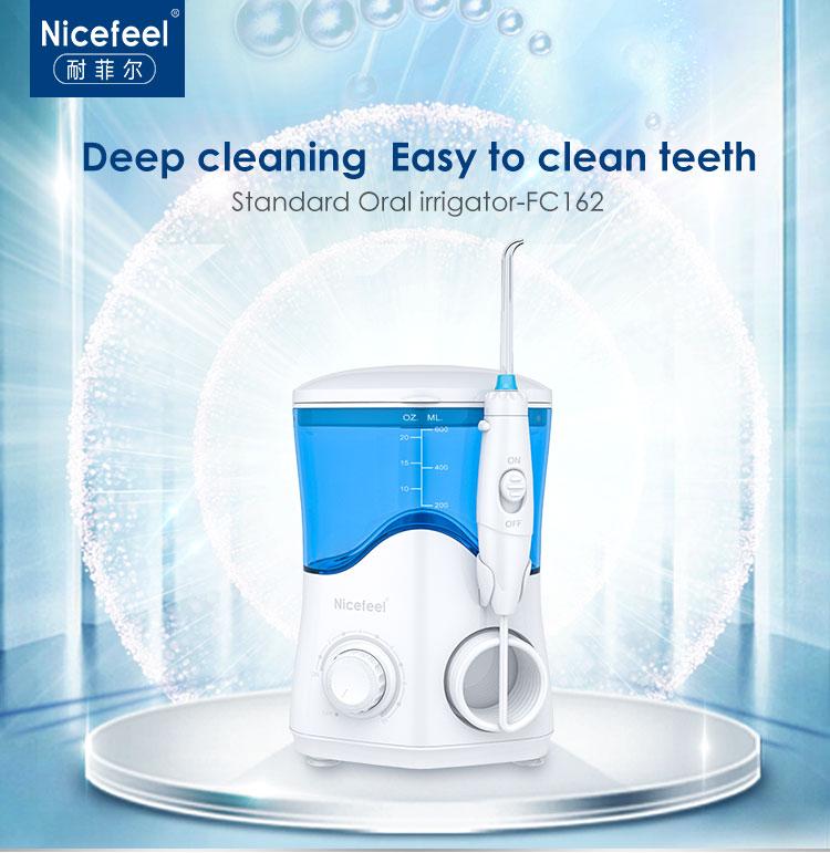 Dental water flosser monddouche met smart switch