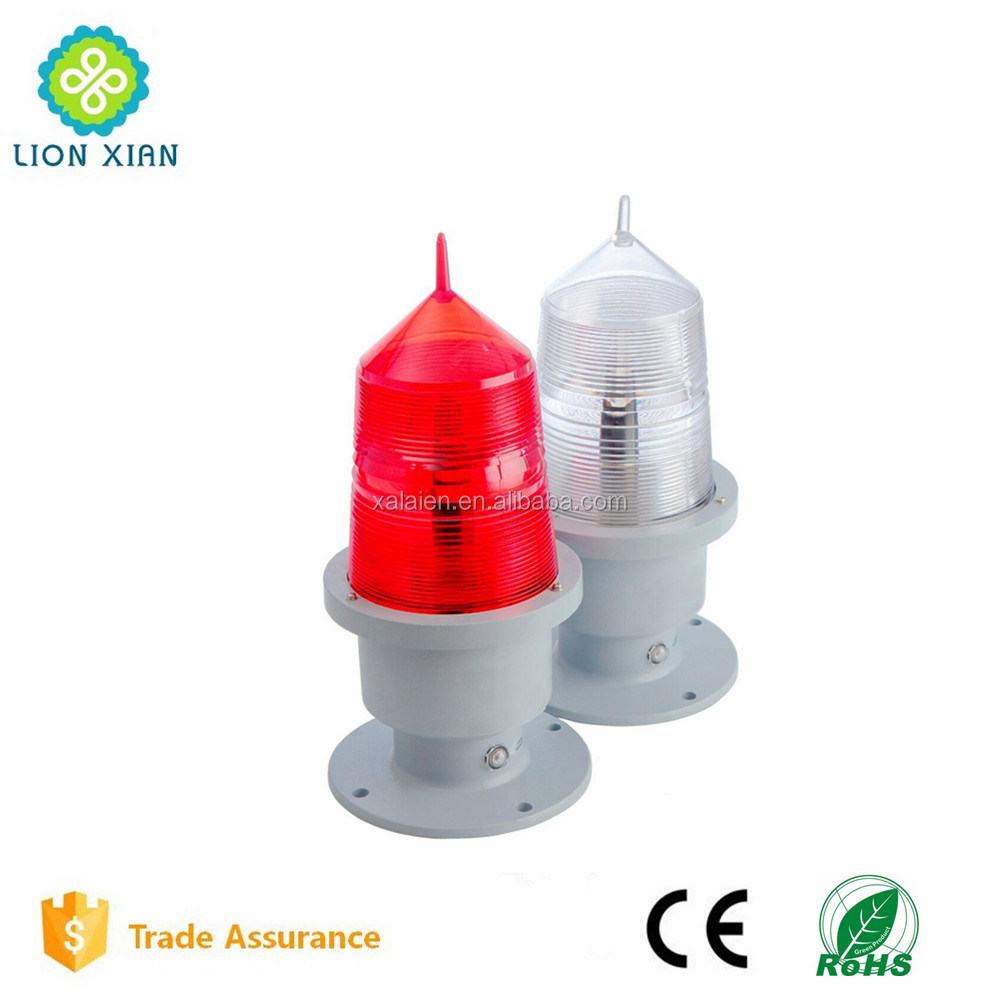aviation obstruction lighting for telecommunication base station tower