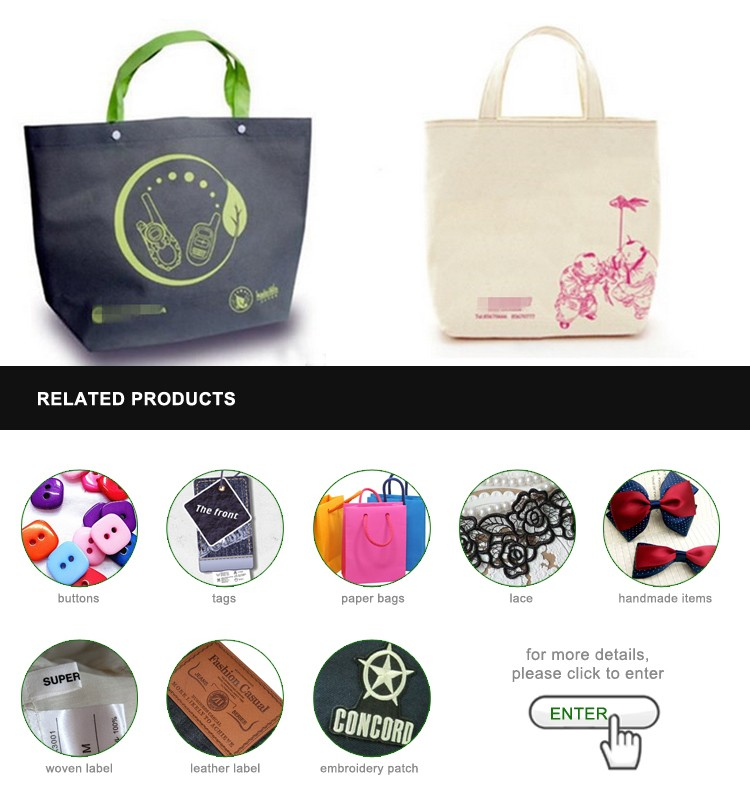 Reusable Shopping Bag With Zipper, Non Woven Bag With Zipper