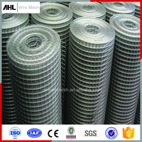 Manufacture Home Depot Welded Wire Mesh Panel Galvanized Welded Wire Fabric Fence Rolls for Construction Mesh