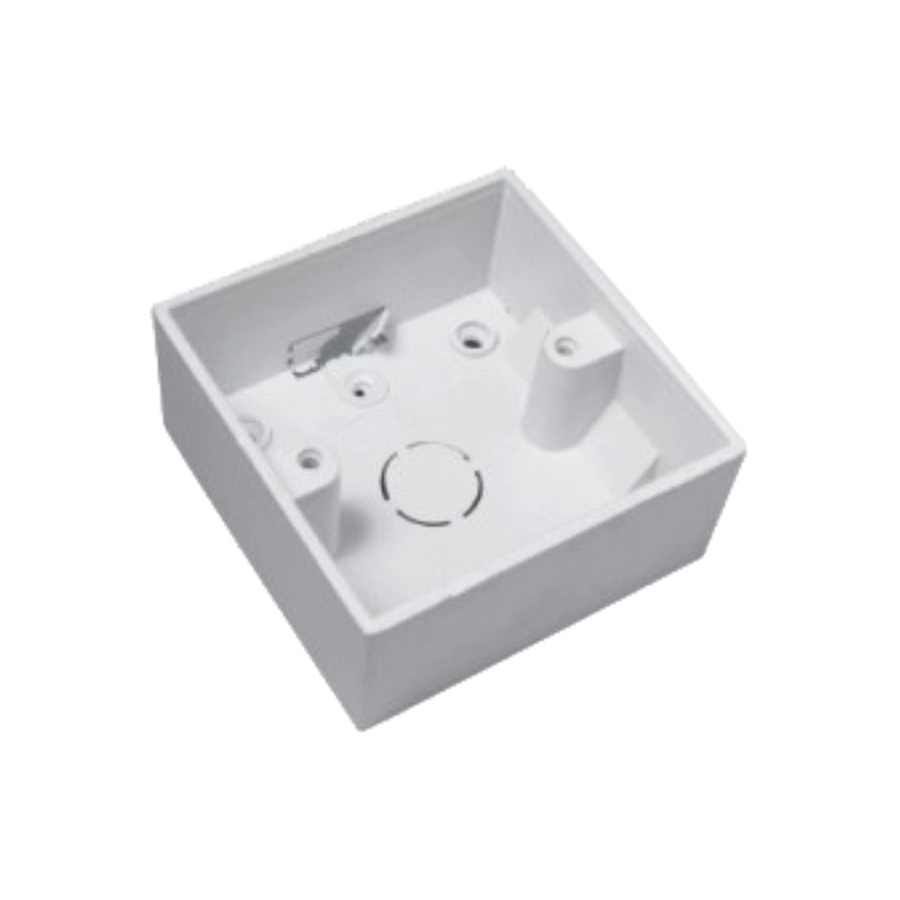 86x86mm wall switch 86 type box back case for wall groove.