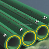 Environmental High Temperature Green excellent Quality Of PPR Glass-Fiber Pipe