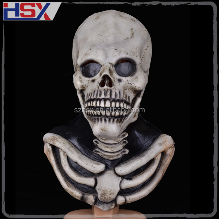 Hotest Skull Monster Scary Full Face Masks Latex Halloween Party Costume Cosplay Mask