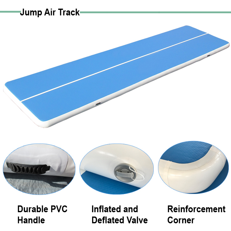 3M 4M Cheap Inflatable air track tumble track inflatable air mat for gymnastics