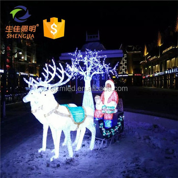Outdoor Big Lots Christmas Animal Outdoor Decoration Led