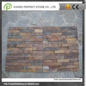Interior Exterior Natural Slate Culture Stone Wall Panel