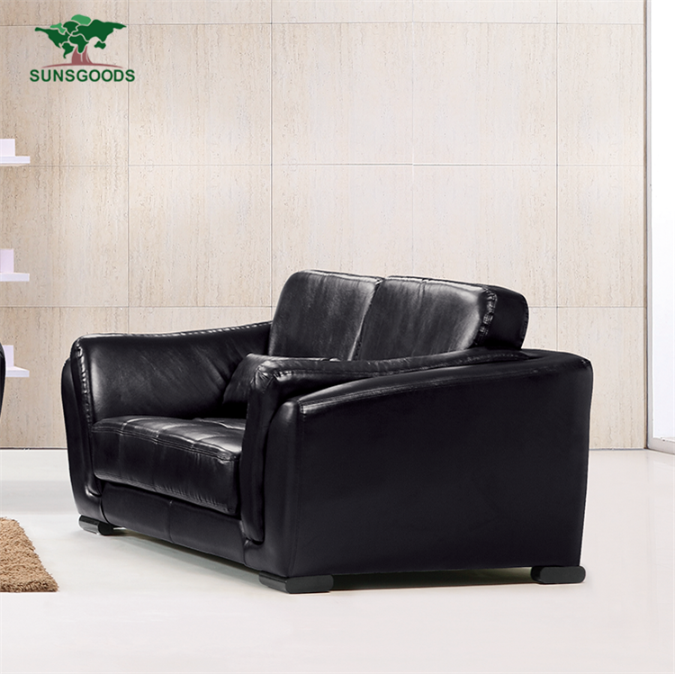 China Manufacturer 2 Person Leather Sofa,2 Seater Leather Seat,Double Leather Chaise