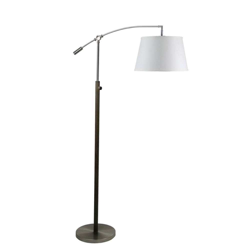 Arc Floor Standing Lava Lamp In Brushed Nickel Apply For Hotel And ...