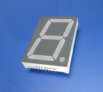 "KEM-15011-BSRSG dual color 1.5"" seven segment led display 1.5 inch 7"