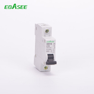 1p,2p,3p,4p IEC60898 Attestation DZ47-63Circuit Breaker Electric MCB Size