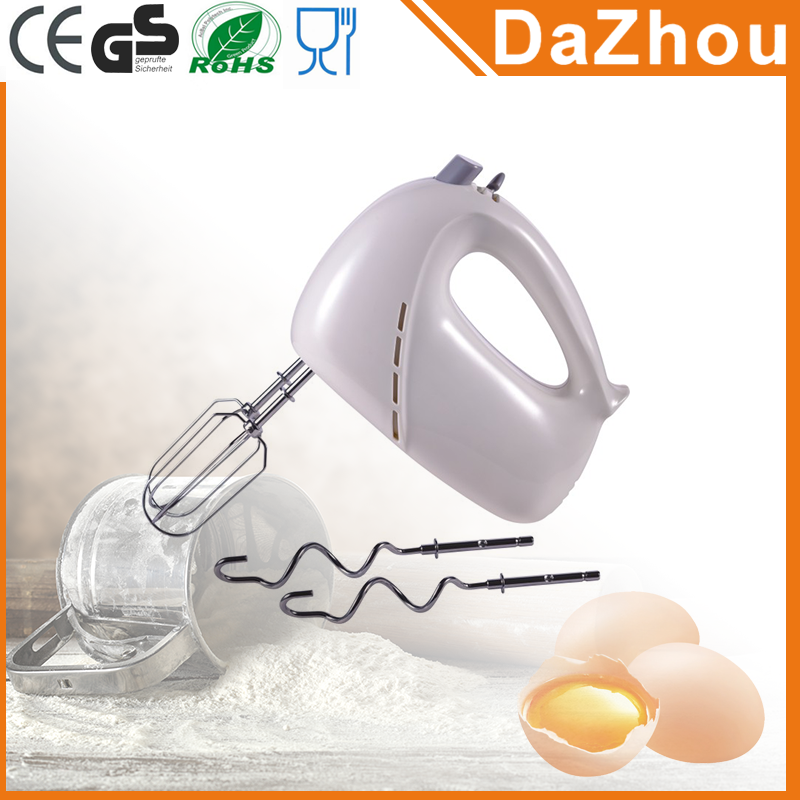 Manufacturer Supplier 5 Speeds Electric Hand Mixer With CE/CB/ROHS/LFGB/GS Best Handheld Mixers