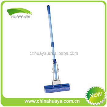 Blue Rubber Mop Head Cleaning Floor Wiper