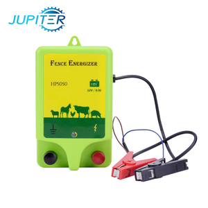 12V battery power green 0.5j animal farm electric fence energizer