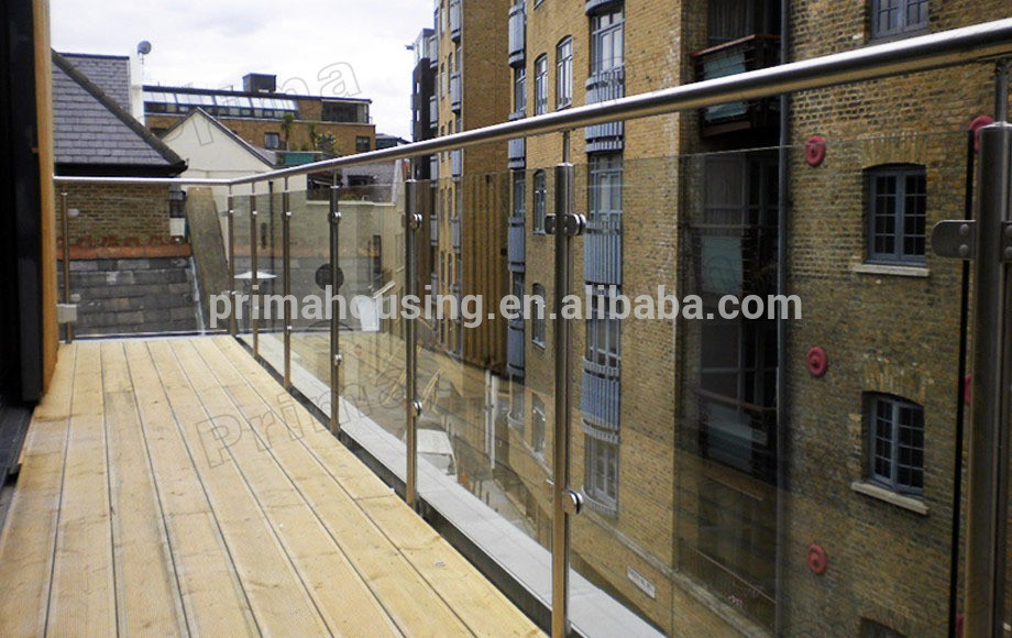 Best Price Balcony Stainless Steel Glass Railings Designs
