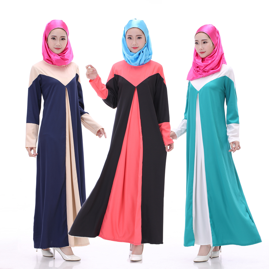 Latest design muslim full dress / clothes for women