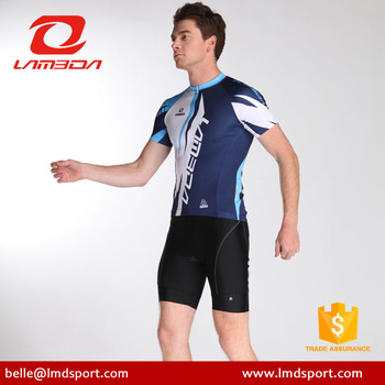 684c9b7f5 LAMBDA shark printing conceal zipper personalized cycling jersey factory