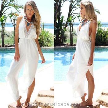 edd69acc546 Sexy Women Summer Boho Long Maxi Evening Party Dress Beach Dresses Chiffon  Dress