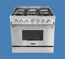 Chinese Gas Cooking Range with 6 Burner