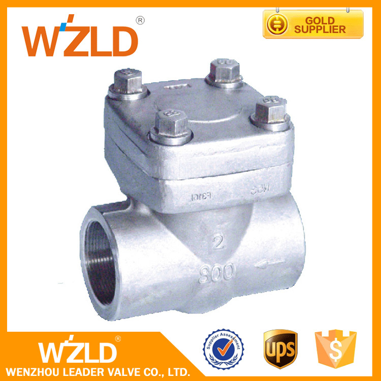 WZLD Handle Controlled Stainless Steel Oil,Gas,Water Medium Check Valve CL150,CL800