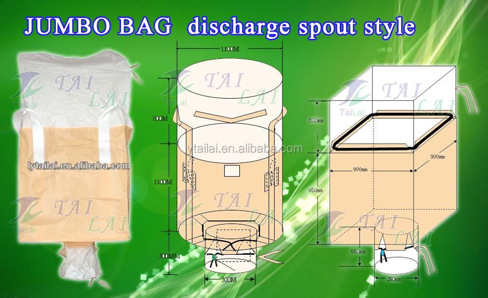 polypropylene 1000kg ton bag big bag jumbo bag container. Black Bedroom Furniture Sets. Home Design Ideas