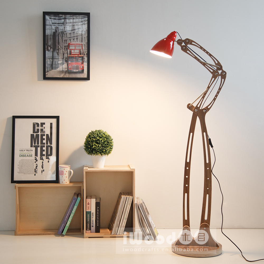 2016 Hot Selling Unique Flexible Arm Floor Lamp