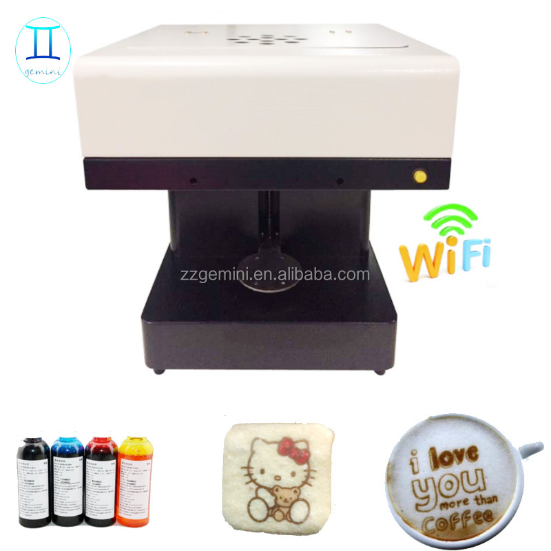 guangzhou 3d coffee printer for cake , Cookies , Chocolate etc.