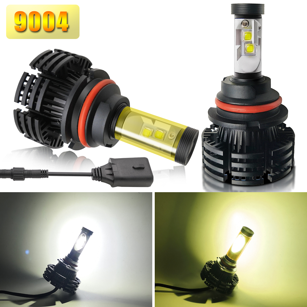 Logo Baru Lampu H7 LED Headlight Bulbs H4 Fan 16000Lm HB4 Auto C6 X3 M2 LED Mobil Lampu H4 LED H7 LED