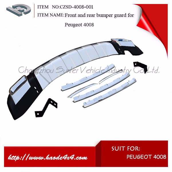 wonderful car bumper guard 2016 best selling running board for Peugeot