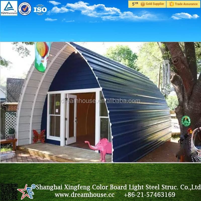 Dome Home Kits: Good Quality Steel Structure Prefab Dome Homes/new Style