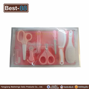 Manufacturers fast direct delivery baby care suit, protection baby series kit with baby comb and brush