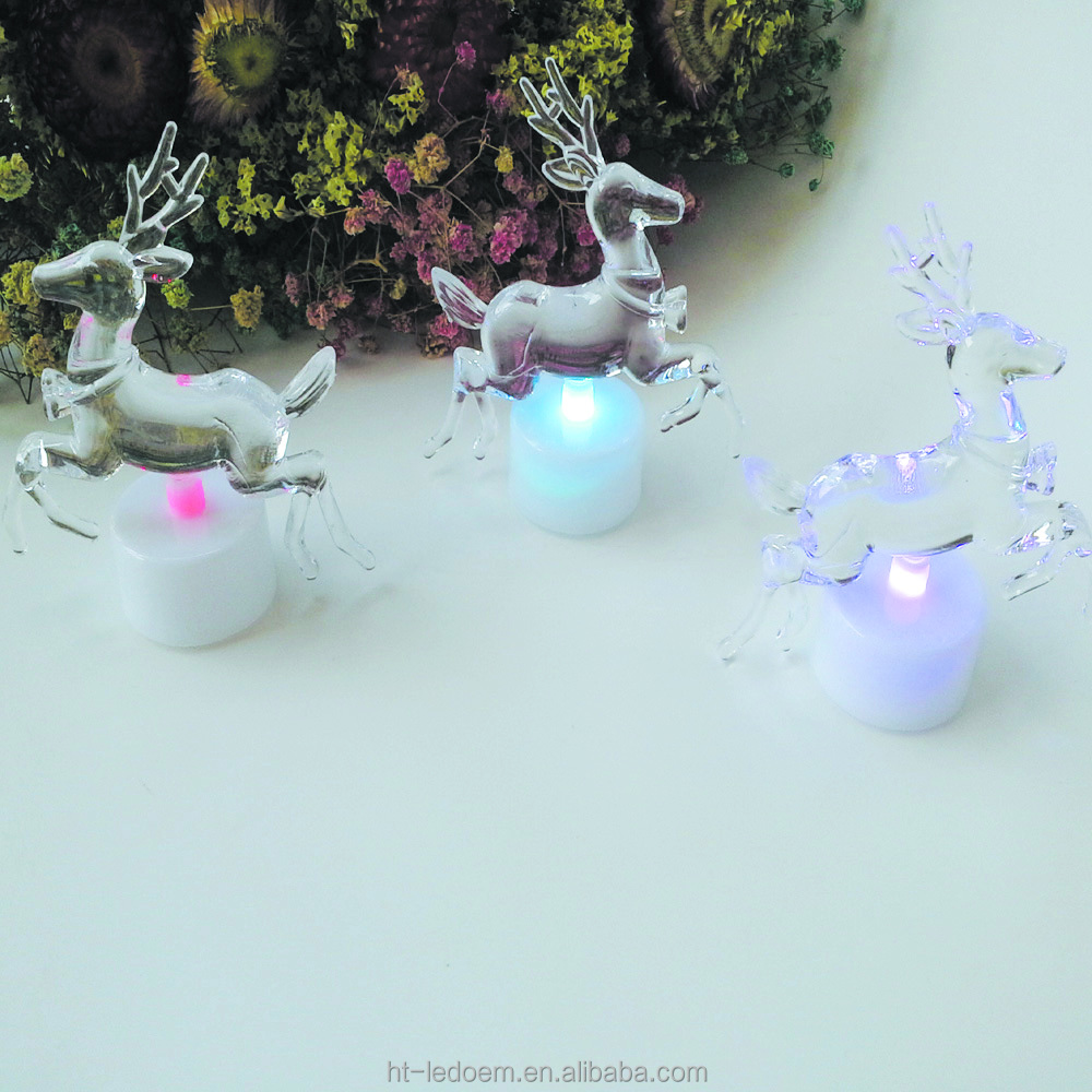 Funny Colorful small deer shape led night light