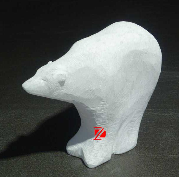 71f029a56aaf6 Pierre décorative de jardin statue d'ours animaux sculpture abstraite