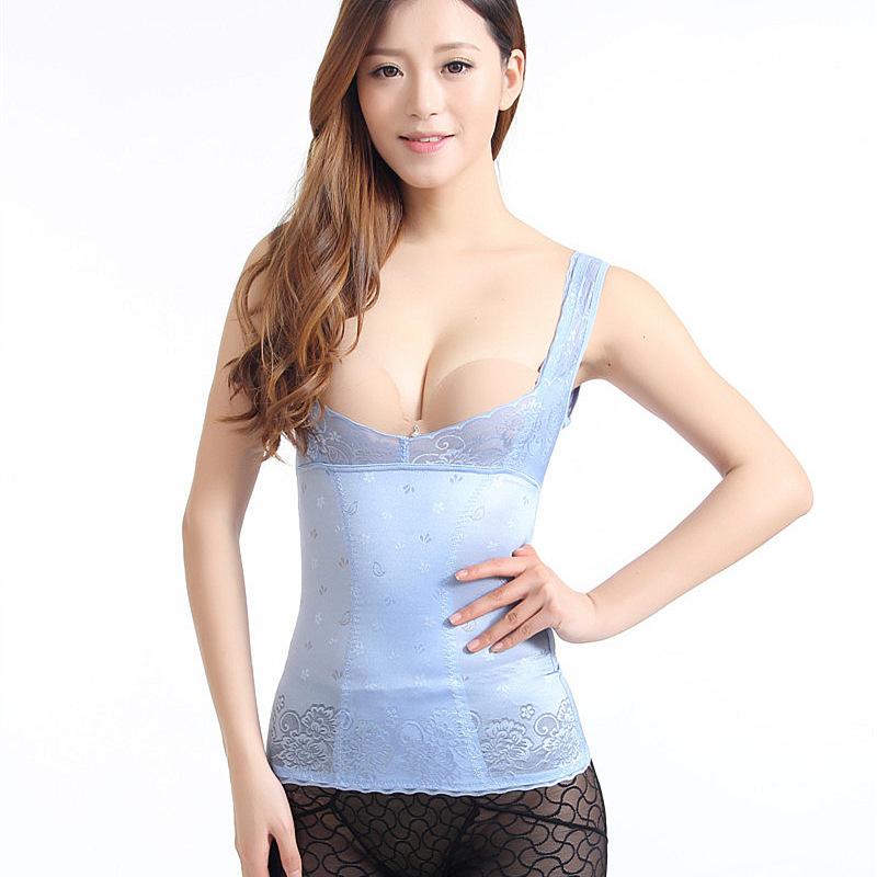 69c296b2894 Get Quotations · Waist cincher plus size waist training corset waist  training vest female body corset burner beauty waist