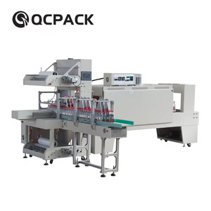 Automatic Sleeve Water Bottle Shrink Wrap Machine