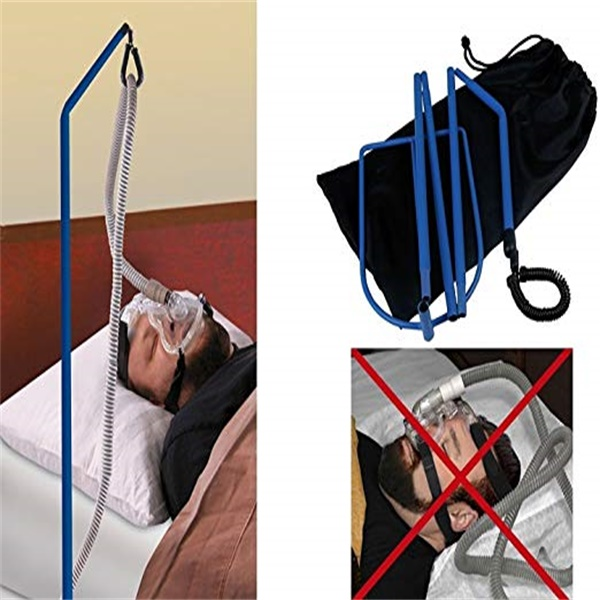 Bed Sleep Sleeping Tangle Proof Tube Oxygen Adjustable Sturdy Cpap Hose Holder