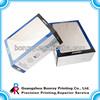 transparent PVC window packaging box