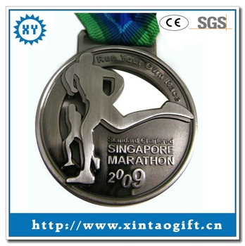 factory price custom new design marathon sport medal