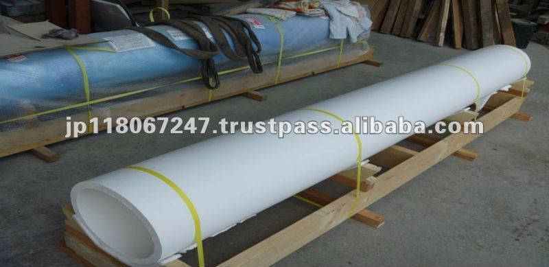 large size ceramic pipes for Rotary kiln for Lithium battery production