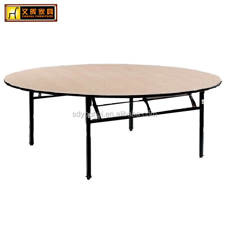 Delicieux Home Furniture Wooded Folding Banquet Table / Banquet Round Table   Buy  Banquet Table,Banquet Round Table,Folding Banquet Table Product On  Alibaba.com