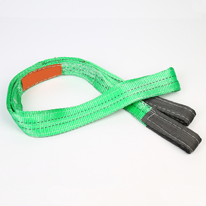 Easy to use tough and durable polyester 2 ton crane lifting belt