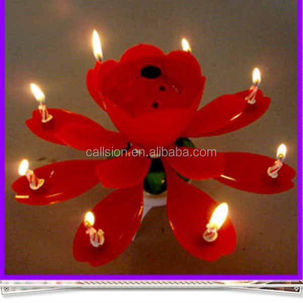 candle flower musical